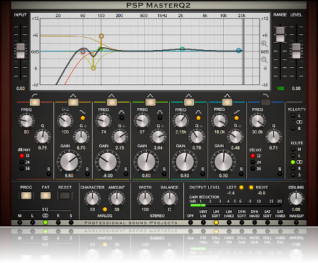 Precise, surgical EQ for mix & mastering