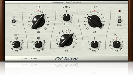 Musical EQ with low phase distortion.