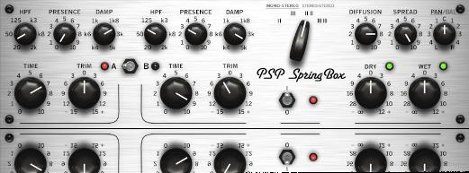 High-quality spring reverb emulation