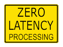 zero latency processing