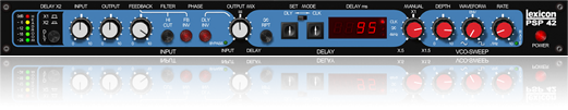 PSP Lexicon-approved stereo delay plugin