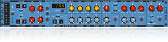 Variable sample rate delay plug-in