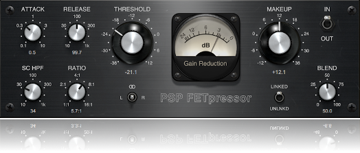 FET feedback type compressor plug-in