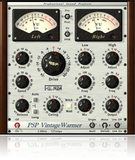 Quality analog-style compressor/limiter
